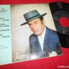 Discos de vinilo: JARRITO&PACO AGUILERA A GUITARRA SERRANA QUE TE OLVIARA/SI VAS A SAN ANTOLIN/+2 7'' EP 1962 COLUMBIA. Lote 118914647