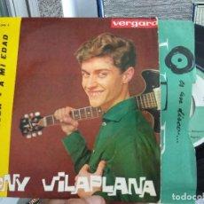 Discos de vinilo: EP TONY VILAPLANA IL TANGACCIO VG++0. Lote 118916675