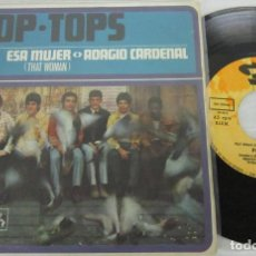 Discos de vinilo: POP TOPS - ESA MUJER / THAT WOMAN - SINGLE - BARCLAY 1968 SPAIN SN-20166. Lote 118921751