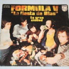 Discos de vinilo: FORMULA V *** SINGLE VINILO MUSICA ESPAÑOLA AÑO 1974 *** PHILIPS ** . Lote 118928511