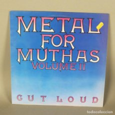 Discos de vinilo: LP VINILO HEAVY METAL. METAL FOR MUTHAS - SAMPLER VOL. II. 1980. Lote 118928927