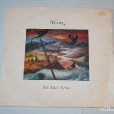 Discos de vinilo: STING *** SINGLE VINILO MUSICA INTERNACIONAL AÑO 1990 *** A M ** . Lote 118929523
