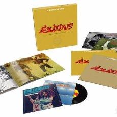 Discos de vinilo: BOB MARLEY & THE WAILERS - EXODUS 40 ANIVERSARIO SUPER DELUXE BOX SET 4LP & 2 X 7' SINGLES NUEVO. Lote 118930187
