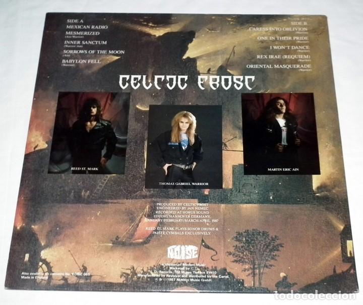Discos de vinilo: LP CELTIC FROST - INTO THE PANDEMONIUM - Foto 2 - 118939307