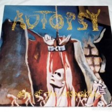 Discos de vinilo: LP AUTOPSY - ACTS OF THE UNSPEAKABLE PEACEVILLE 1992. Lote 118940303