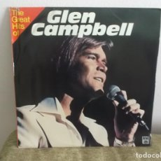 Discos de vinilo: GLEN CAMPBELL - THE GREAT HITS OF - 2 DISCOS LP VINILO. Lote 118955783