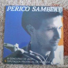 Discos de vinilo: LP. PERICO SAMBEAT. AÑO 1990. MUY BUENA CONSERVACION. Lote 118977071
