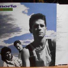 Discos de vinilo: EL NORTE - EL MUNDO ESTA LOCO LP 1990 CON ENCARTES PEPETO. Lote 118984279