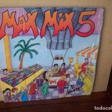 Discos de vinilo: MAX MIX 5 - 2ª PARTE - DOBLE LP CARPETA ABIERTA . Lote 118997519