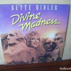 Discos de vinilo - BETTE MIDLER - DIVINE MADNESS - LP 1980 - 119003967