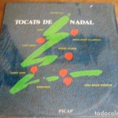 Discos de vinilo: VVAA - TOCATS DE NADAL ****** RARO LP NAVIDAD POP ROCK CATALÀ SANGTRAÏT GATO PÉREZ 1988 IMPECABLE. Lote 119014135