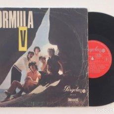 "Discos de vinilo: FORMULA V - MINI LP 10"" - ESPECIAL CÍRCULO DE LECTORES - 1969 – PÉRGOLA. Lote 119020187"