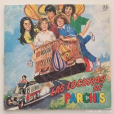 Discos de vinilo: LAS LOCURAS DE PARCHIS - DISCO ROJO / LP 1982. Lote 119025811