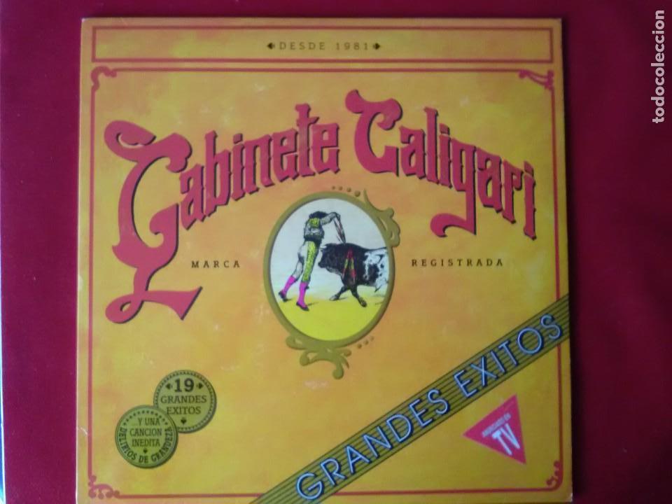 Usado, Impecable vinilo como a estrenar del grupo Gabinete Galigari Grandes éxitos doble LP de 1983 segunda mano