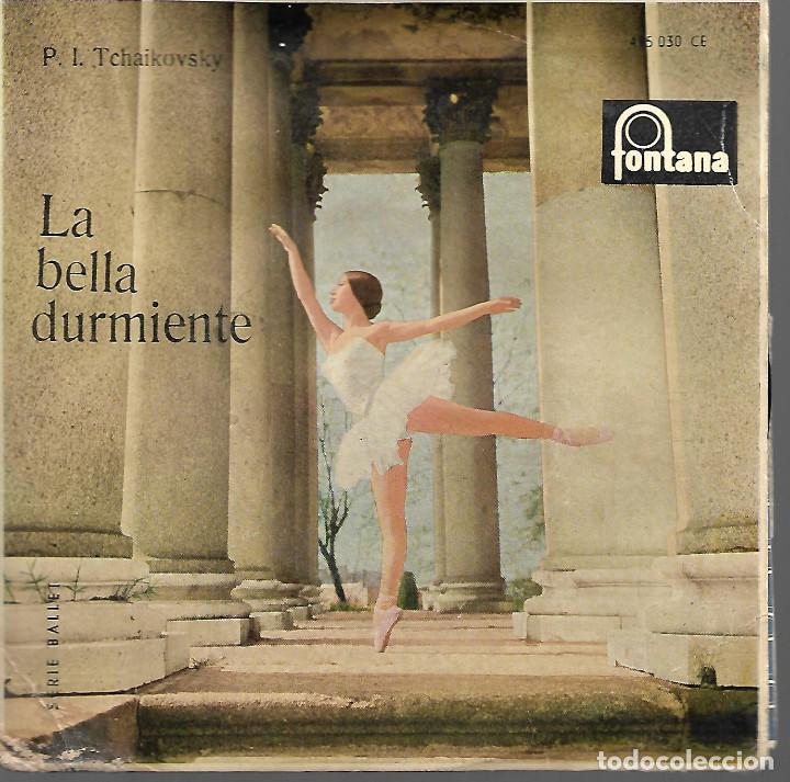 DISCO LA BELLA DURMIENTE (Música - Discos de Vinilo - Maxi Singles - Orquestas)