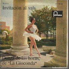 Discos de vinilo: DISCO INVITACION AL VALS. Lote 119031559