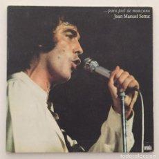 Discos de vinilo: SERRAT - PARA PIEL DE MANZANA / LP 1975. Lote 119032275