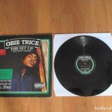 Discos de vinilo: OBIE TRICE - THE SET UP - MAXI - EU - SHADY RECORDS - IBL - . Lote 119035487