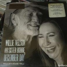 Discos de vinilo: 2 LP WILLIE NELSON - DECEMBER DAY. Lote 119036867