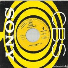 Discos de vinilo: SODA STEREO SINGLE PROMOCIONAL POR UNA SOLA CARA HOMBRE AL AGUA ESPAÑA 1991. Lote 119046251