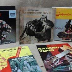 Discos de vinilo: LOTE DE DISCOS DE VINILO , MÚSICA CLÁSICA. Lote 119051143