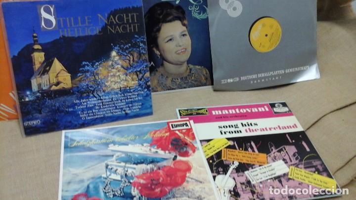 LOTE DE DISCOS EN VINILO . MÚSICA CLÁSICA (Música - Discos - Singles Vinilo - Clásica, Ópera, Zarzuela y Marchas)