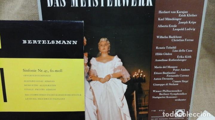 LOTE DE DISCOS DE VINILO .MÚSICA CLÁSICA (Música - Discos - Singles Vinilo - Clásica, Ópera, Zarzuela y Marchas)