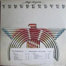 Discos de vinilo: ROGER MCGUINN (THE BYRDS): THUNDERBYRD. ORIGINAL PROMOCIONAL U.S.A. CON ETIQUETA BLANCA. Lote 119065459
