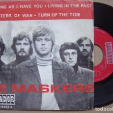 Discos de vinilo: DE MASKERS - AS LONG AS I HAVE YOU + LIVING IN THE PAST + MASTERS OF WAR - EP ORLADOR - 1967. Lote 119067599
