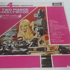 Discos de vinilo: TWO PIANOS IN HOLLYWOOD. Lote 119080551