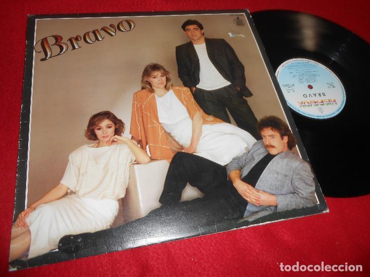 BRAVO LP 1984 HISPAVOX EDICION ESPAÑOLA SPAIN (Música - Discos - LP Vinilo - Grupos Españoles de los 70 y 80)