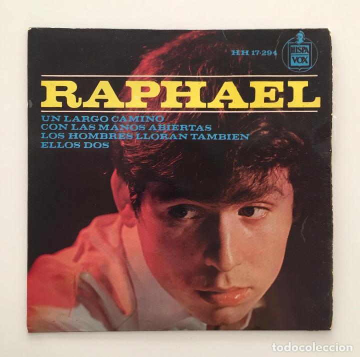 RAPHAEL ?- UN LARGO CAMINO / SINGLE 1964 / PEDIDO MÍNIMO 6€ (Música - Discos - Singles Vinilo - Solistas Españoles de los 50 y 60)