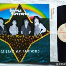 Discos de vinilo: SILVER LAUGHTER '' SAILING ON FANTASIES '' LP + INNER 1ST PRESSING 1978 USA. Lote 119094315