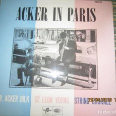 Discos de vinilo: MR. ACKER BILK - ACKER IN PARIS LP - ORIGINAL INGLES - COLUMBIA RECORDS 1966 MONOAURAL -. Lote 119106535