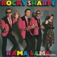 Discos de vinilo: ROCKY SHARPE AND THE REPLAYS - RAMA LAMA. Lote 119107203