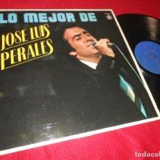 Disques de vinyle: JOSE LUIS PERALES LO MEJOR DE JOSE LUIS PERALES LP 1980 HISPAVOX EDICION ESPAÑOLA SPAIN. Lote 119109475
