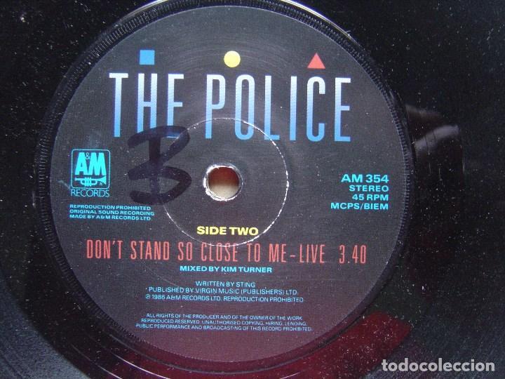 THE POLICE - DON´T STAND SO CLOSE TO ME 86 - SINGLE UK A&M - 1986 (Música - Discos de Vinilo - Maxi Singles - Pop - Rock - New Wave Internacional de los 80)