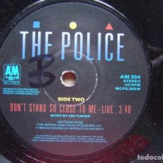 Discos de vinilo: THE POLICE - DON´T STAND SO CLOSE TO ME 86 - SINGLE UK A&M - 1986. Lote 119111267