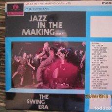 Discos de vinilo: JAZZ IN THE MAKING (VOLUME 2) LP - ORIGINAL INGLES - PARLOPHONE 1963 - MONO CON ENCARTE -. Lote 119117963