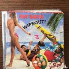 Discos de vinilo: FAT BOYS & BEACH BOYS - WIPEOUT! - SINGLE URBAN UK 1987. Lote 119124019