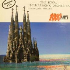 Discos de vinilo: 1000 ANYS - THE ROYAL PHILARMONIC ORCHESTRA - JOAN BARCONS *. Lote 119124171