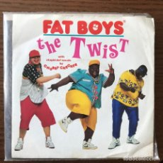 Discos de vinilo: FAT BOYS & CHUBBY CHECKER - THE TWIST - SINGLE URBAN UK 1988. Lote 119124711