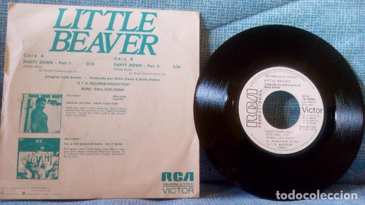 Discos de vinilo: LITTLE BEAVER - PARTY DOWN - RCA VICTOR XB-02004 - PROMO - VINILO NUEVO - CARPETA NEAR MINT - Foto 2 - 119132563