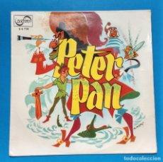 Discos de vinilo: PETER PAN - ZAFIRO TEATRO RADIO NACIONAL- VINILO ROSA. Lote 119141111