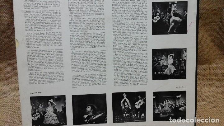 Discos de vinilo: Una noche en el corral de la morería . Philips . Con la Paquera de Jerez, la Chunga etc - Foto 3 - 119150675