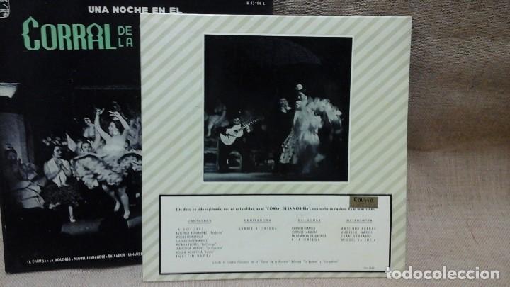 Discos de vinilo: Una noche en el corral de la morería . Philips . Con la Paquera de Jerez, la Chunga etc - Foto 5 - 119150675