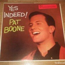 Discos de vinilo: PAT BOONE LP ORIGIANL USA 1958 - ROCK'N'ROLL ELVIS PRESLEY (ATENCIOM COMPRA MINIMA 15 EUROS). Lote 119151187