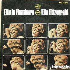 Discos de vinilo: ELLA FITZGERALD - ELLA IN HAMBURG (SG) 1965. Lote 119181603