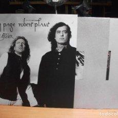 Discos de vinilo: JIMMY PAGE & ROBERT PLANT NO QUARTER DOBLE LP UK 1994 PEPETO TOP. Lote 119188223
