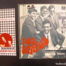 Discos de vinilo: LOS DIABLOS- GRACIAS AMOR. SINGLE. Lote 119194887